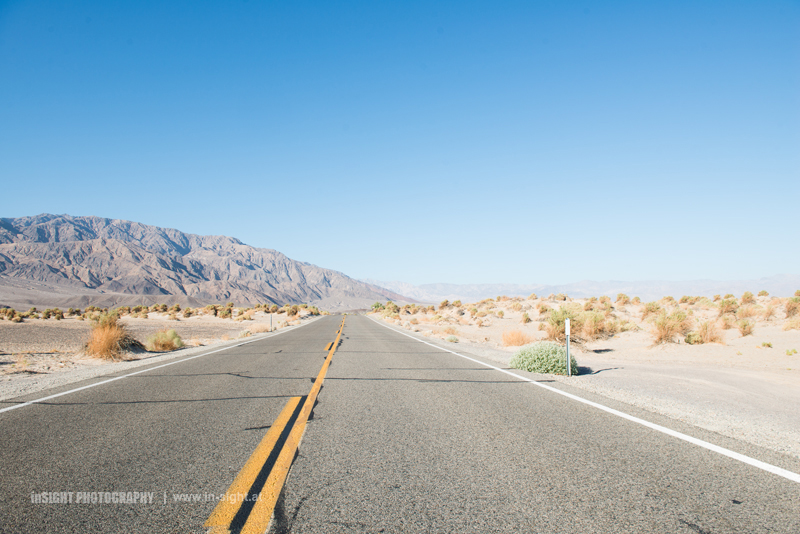 Roads through Death Valley