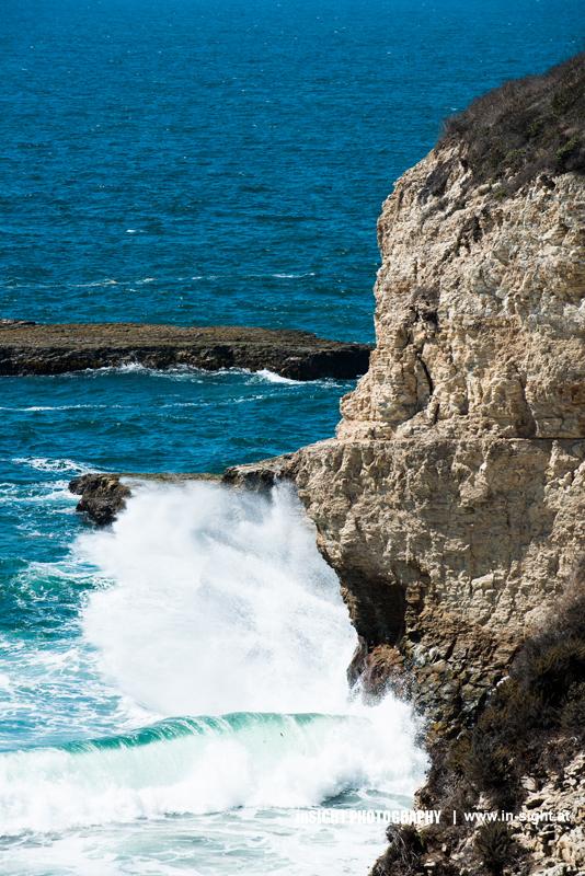 Surf near Santa Cruz
